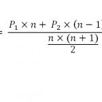 สมการคำนวณ WMA